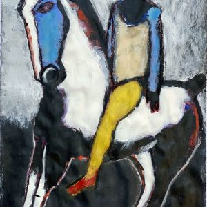 Koskinas Horse and Rider with Yellow 4