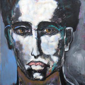 Milo abstract figurative portrait by James Koskinas