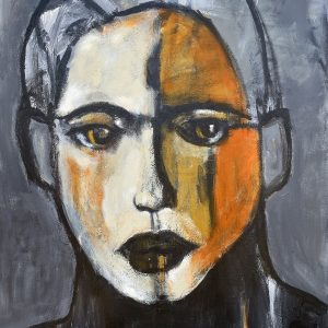 koskinas Girl with Ochre II