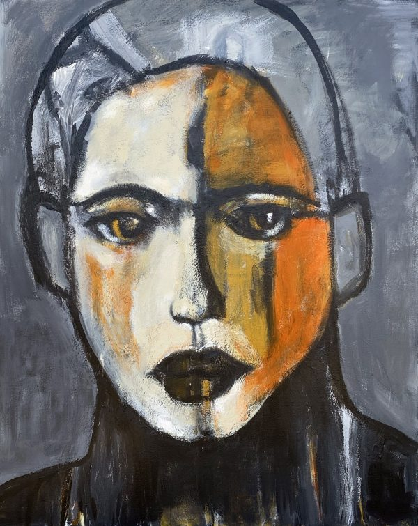 koskinas Girl with Ochre II