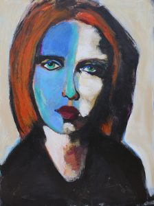 James Koskinas Girl with Orange Hair I