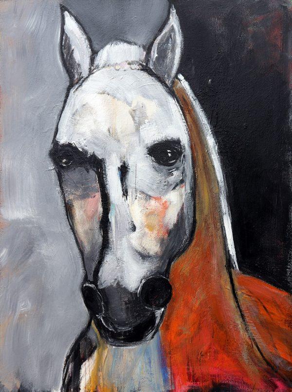 koskinas horse with orange