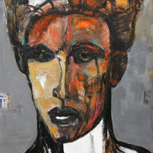 james koskinas Face with Ochre III