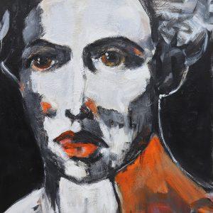 james koskinas girl with orange iv