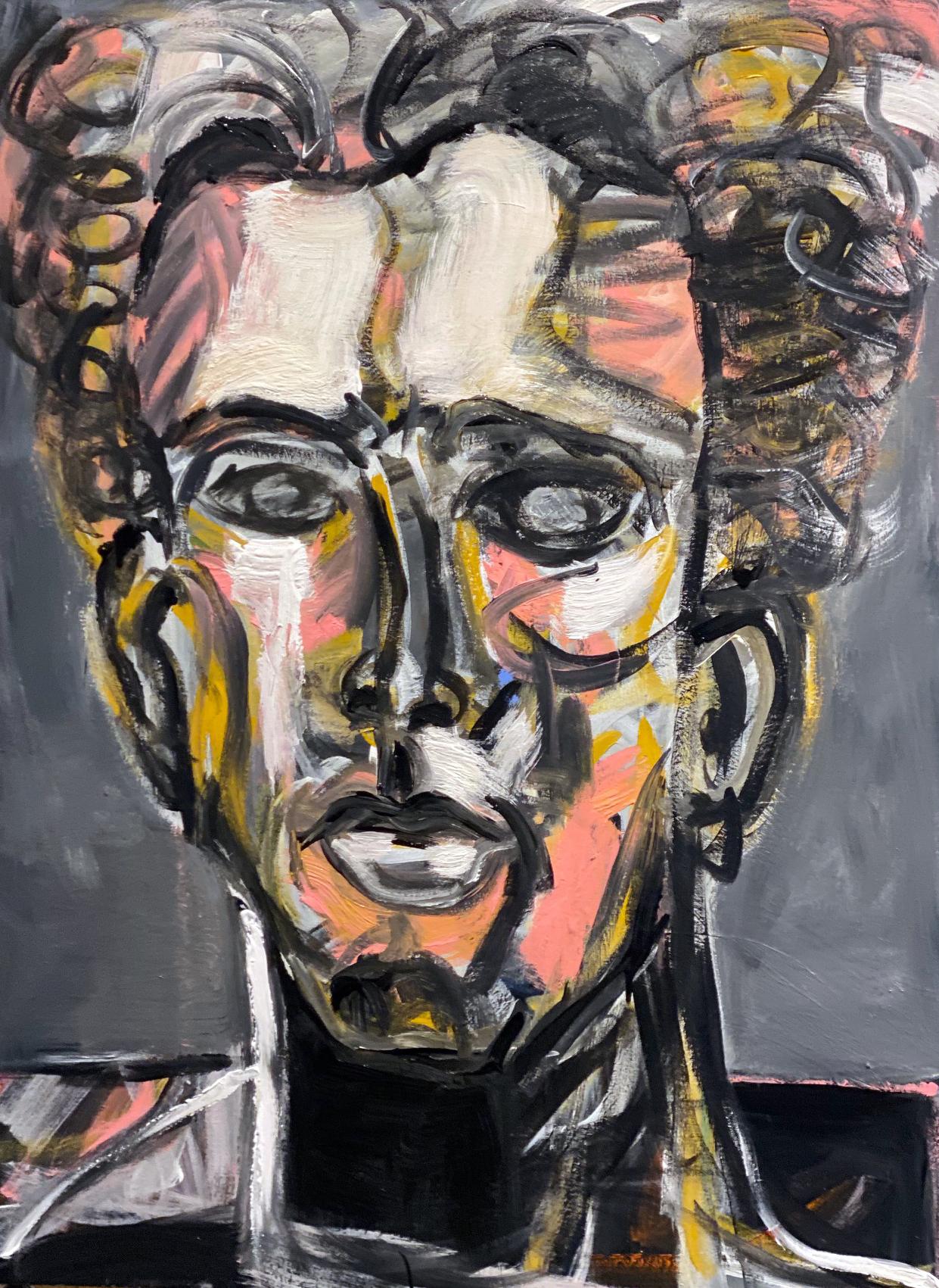 James Koskinas Portrait With Yellow